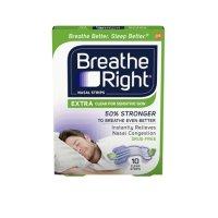 Breathe Right 通气鼻贴 10贴 敏感肌适用