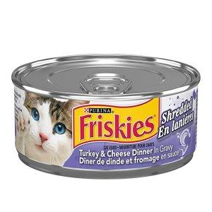 Friskiesadd-on商品火鸡芝士猫罐头 156g