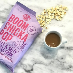 $10.98 for Pack of 24Angie's BOOMCHICKAPOP Sweet and Salty Kettle Popcorn
