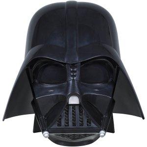 £94.99(原价£139.99)Hasbro 星球大战 达斯·维达 西斯黑暗尊主 1:1头盔