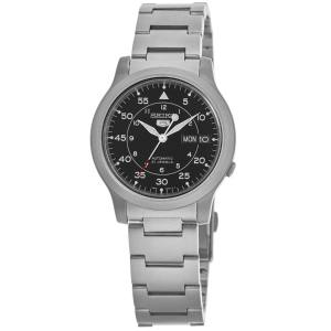 $79 + Free ShippingDealmoon Exclusive: Seiko 5 Automatic Black Dial Stainless Steel Men's Watch