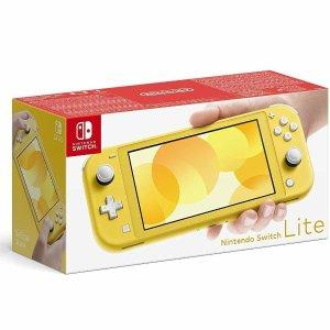 更轻便,屏幕PPI更高的便携好选择Nintendo 任天堂 Switch Lite 游戏机