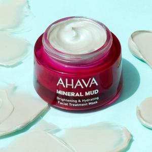 满赠正装面膜Ahava 全场护肤品热卖 收死海泥面膜、护手霜