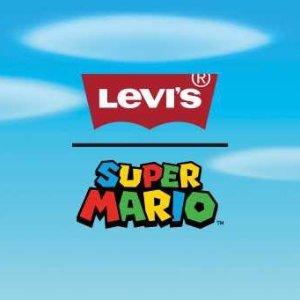$40收超级马里奥短袖 刘雯同款上新:Levis x Super Mario 联名款热卖 和Mario一起冒险吧