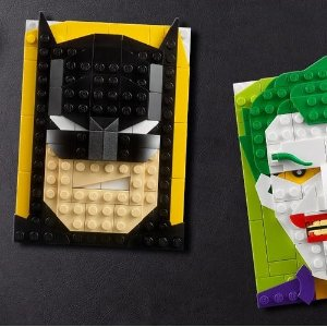 仅£17.99新品上市:LEGO官网 BRICK SKETCHES 大头画框系列