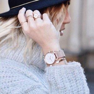 全场8折 收INS爆款大理石纹表盘手表CLUSE 手表 美饰热卖中