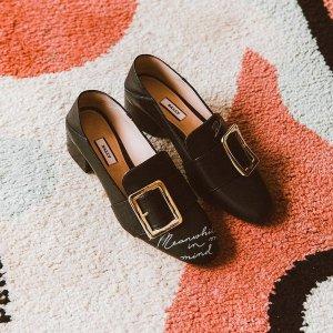 定价优势+低至7.5折BALLY 乐福鞋大促 收方扣鞋、珍珠鞋