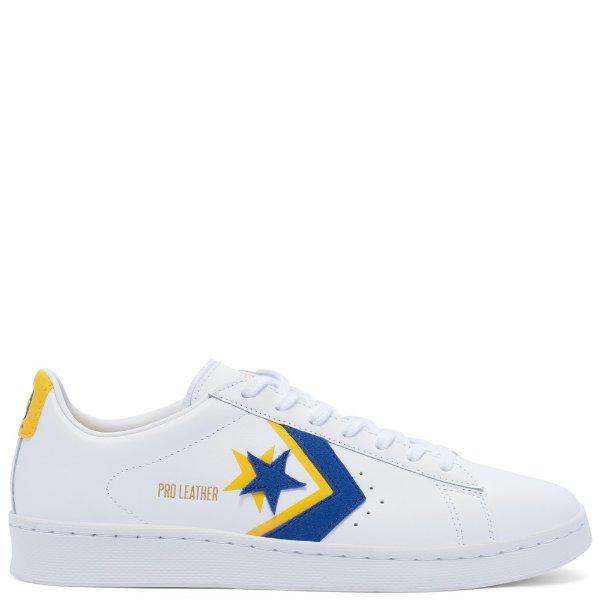 黄蓝小白鞋