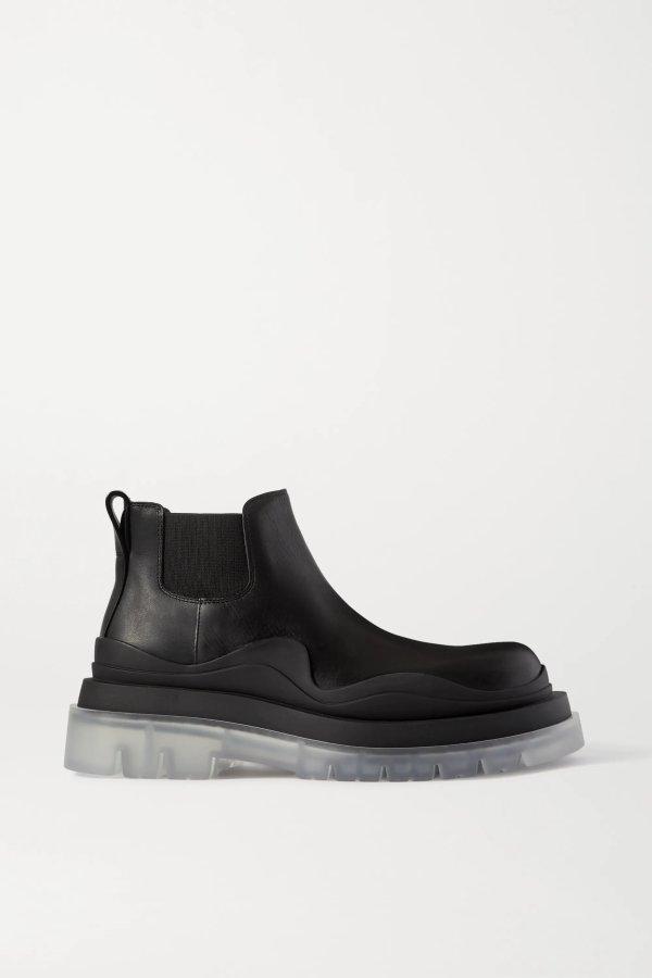 透明底靴子