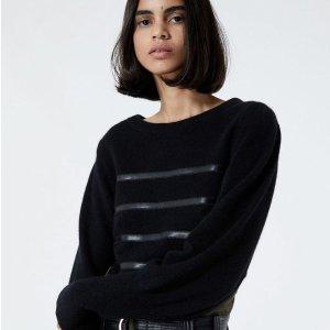 5折起 £70起就收针织毛衣The Kooples 毛衣、开衫大促 秋冬必备 最佳秋冬法风穿搭