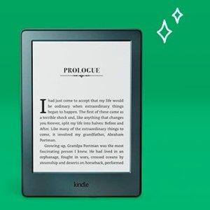$89(原价$109)阅读不伤眼黑五价:Kindle  电子书阅览器 黑色款式