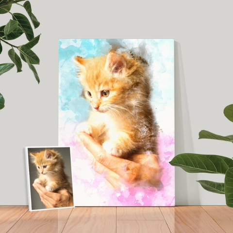 20% OffDealmoon Exclusive: Iconic Paw Custom Pet Portrait on Sale
