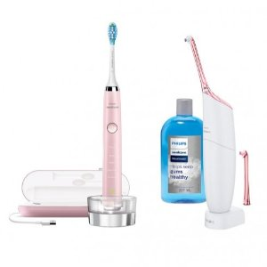 $291(原价$756)Philips 新版钻石靓白电动牙刷+空气水牙线套装热卖