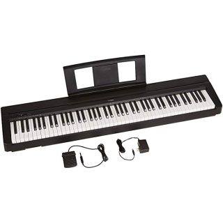 $399.99Yamaha P71 88-Key Weighted Action Digital Piano With Sustain Pedal And Power Supply (Amazon-Exclusive)
