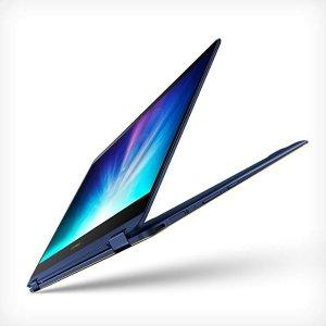 "i7-8550U, 16G, 512G PCIe SSDZenBook Flip S Touchscreen Convertible Laptop, 13.3"" Full HD, 8th Gen Intel Core i7 Processor, 16GB DDR3, 512GB SSD, Backlit KB, Fingerprint, Windows 10 Pro - UX370UA-XH74T-BL, Royal Blue"
