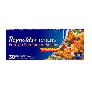 Reynolds 不沾黏烘培纸 30张 烘培必备