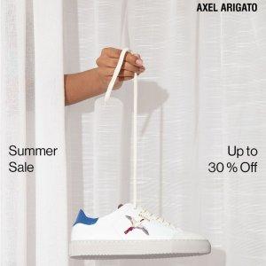 5折起 £116就收!Axel Arigato 火遍Ins 瑞典小众潮鞋夏季大促 这双鞋鞋才时尚王道