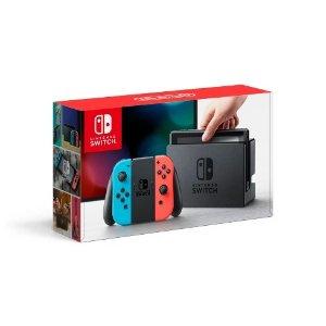 NintendoSwitch 红蓝版套装 + $25礼卡