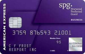 Earn 100,000 bonus points. Terms Apply.Starwood Preferred Guest® Business Credit Card from American Express