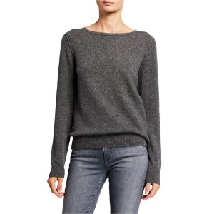 Neiman Marcus Cashmere Collection圆领羊绒衫