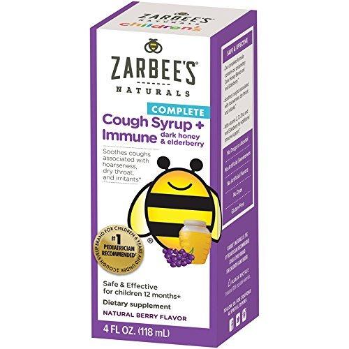 儿童止咳+增强免疫糖浆,4盎司