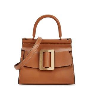 BoyyKarl 24 brown leather top handle bag