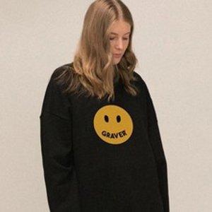 低至5折 €62收封面同款W Concept 大家都爱的潮牌Graver又来啦 收秋冬新款卫衣、外套