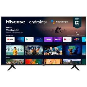 """$579.99 包邮Hisense 70"""" A6G 4K HDR Android TV 智能电视"""