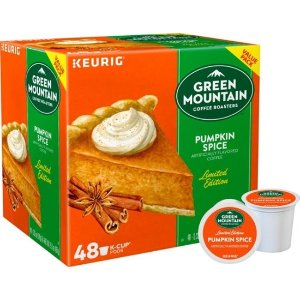 Keurig Green Mountain 南瓜口味 (48粒)