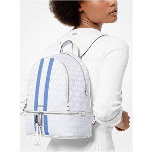 Signature Stripe Rhea Backpack
