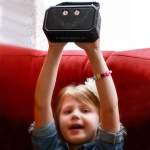 £39.99史低价:DOSS 狼图腾款防水防尘户外音箱