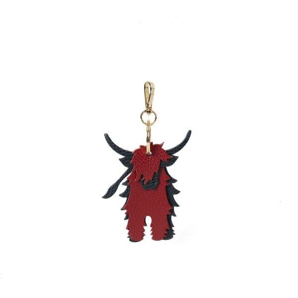 红黑牛牛挂饰