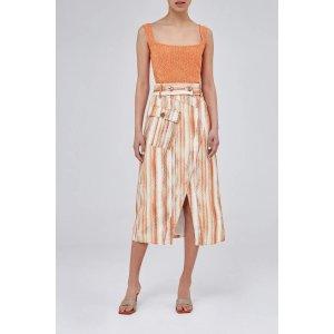 C/MEO Collective开叉半身长裙