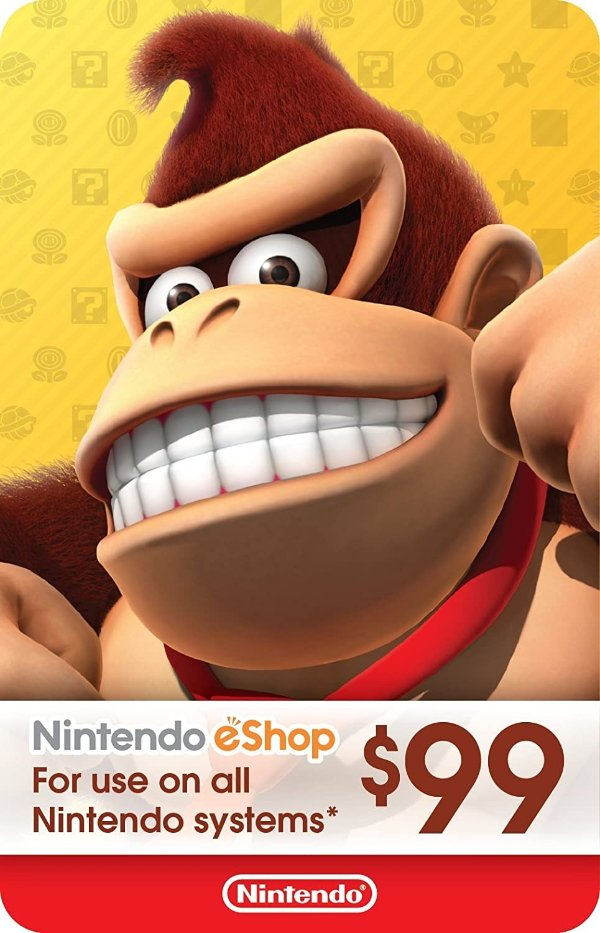 eShop $99 电子礼卡