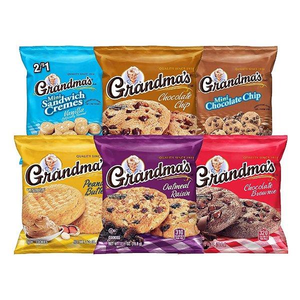 曲奇饼干 多种口味混合装, 30袋装