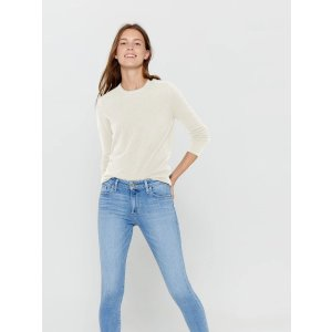 $30 Off $150Crew Neck Cashmere Sweater
