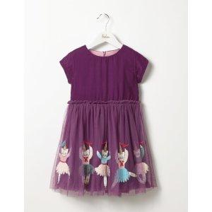Boden绒面蕾丝裙 2岁起 3色可选