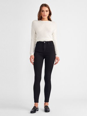 Chrissy Ultra High Rise Skinny | Hail – DL1961