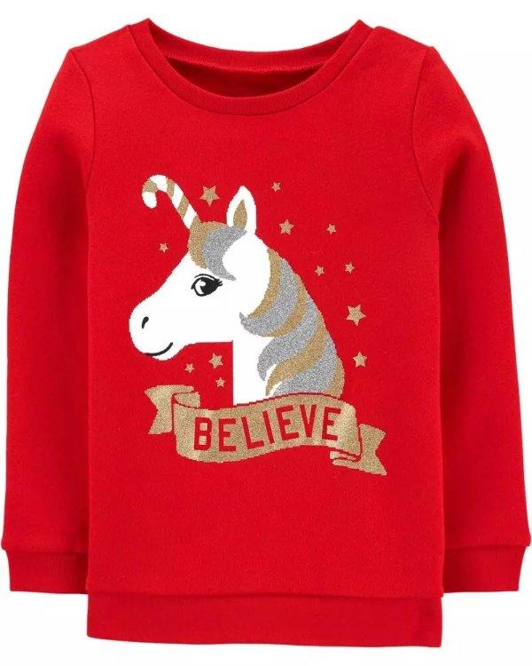 小童圣诞卫衣