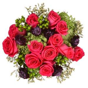 $39.98情人节玫瑰鲜花花束