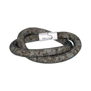 Swarovski2.4折黑水晶手链