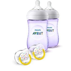 封面套装$16.96再送$5礼卡Philips Avent 新安怡婴儿防胀气奶瓶、儿童水杯热卖