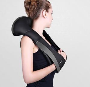 闪购$51.99(原价$90.99)MARNUR Shiatsu 可加热肩颈背部 按摩仪