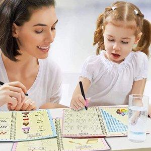 30% OffMOCUMEI Magic Reusable Copybook for Kids-Practice Copybook