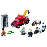 Lego City 城市系列警察追踪重型拖车 60137