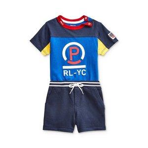 低至6折+最高额外5折Polo Ralph Lauren 儿童服饰清仓促销 好价回归收polo衫