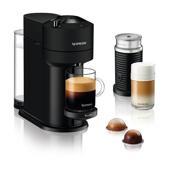 Vertuo Next 胶囊咖啡机和打泡机套装
