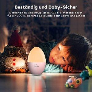 VAVA鸡蛋小夜灯 粉色