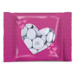 M&M's订制粉红爱心分享装巧克力豆