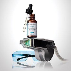 送2件礼包+免邮Skinceuticals 抗氧化权威 SCF油皮抗氧瓶 AGE面霜补货